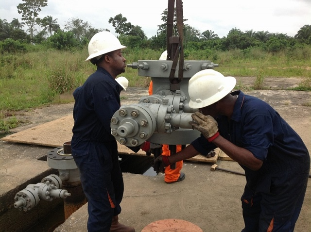 THS Installation during Well Tie Back